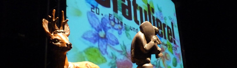 Kurzfilmwettbewerb Bilderbeben Trophäen