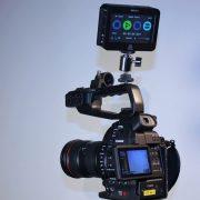 Canon C100 und Ninja 2