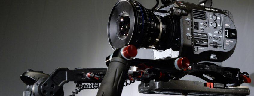 Sony PXW FS7 4K, CP2 50mm, Schnellwechselplatte