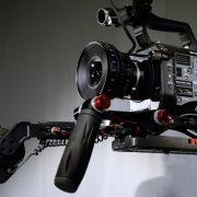 Sony PXW FS7 4K, CP2 50mm, Seitenansicht