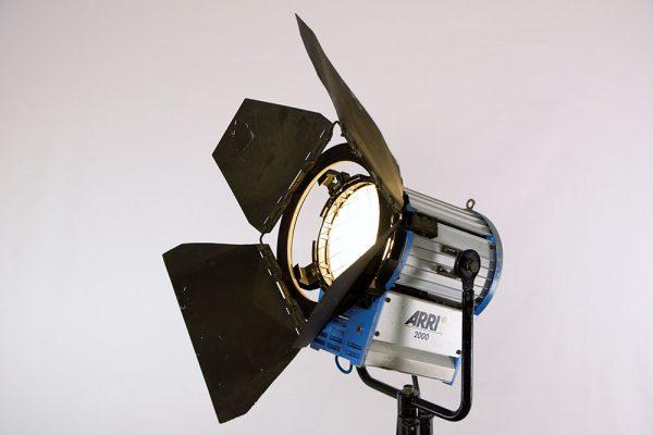 Arri 2000 W Kunstlicht