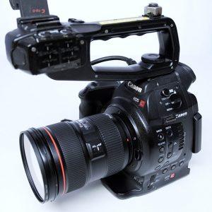Canon EOS C100, Full-HD, 24-70mmZoomoptik