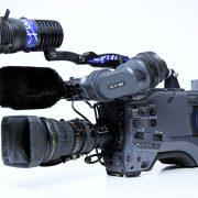 Panasonic HPX 500, 2/3Zoll Broadcast-HD-Camcorder, Fujinon 17fach Zoomoptik
