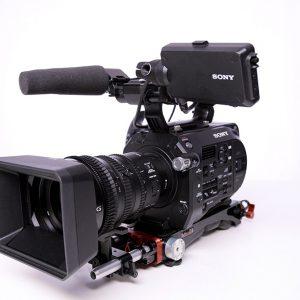 Kamera Sony PXW FS7 4K Zoomoptik 18-110 mm