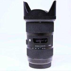 Sigma Weitwinkel-Zoom 18-35mm
