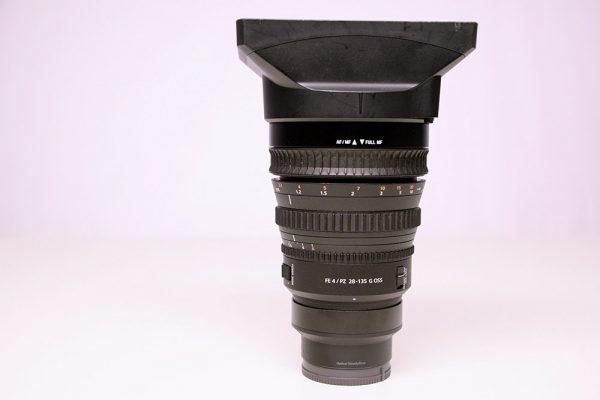 Sony SELP28135G, Tele-Zoom, Vollformat