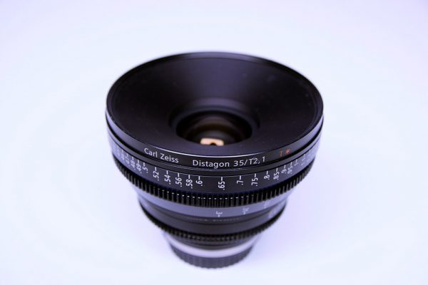 Zeiss Compact Primes Objektiv CP2 35mm F2.1