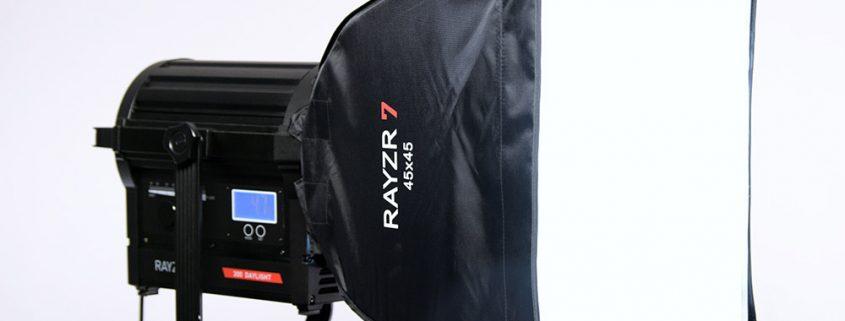 Rayzr 7 300W Daylight LED-Fresnel-Light Softbox-1