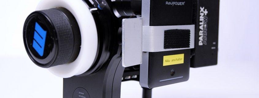 Produktionsset mit RedRock Funkschärfe und Paralinx Arrow