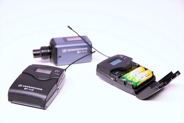 Mikrofon Sennheiser EW100-G3 Drahtlos-Set Zubehör