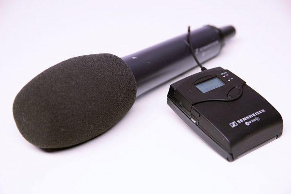 Mikrofon Sennheiser EW100-G3 Drahtlos-Set