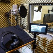 Sprecherkabine Tonkabine Monitor