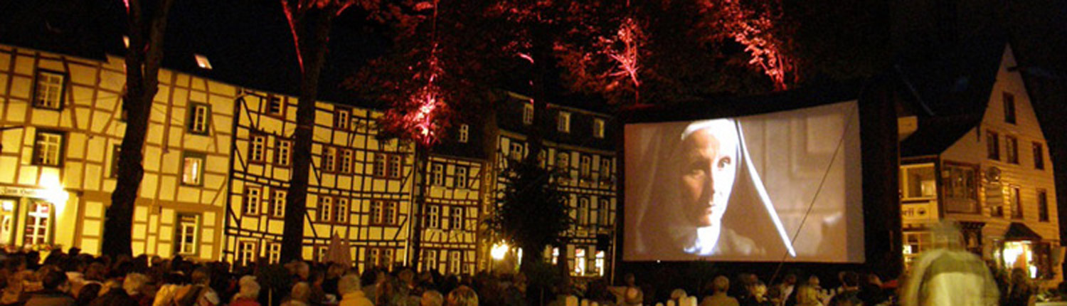 Open Air Kino Monschau