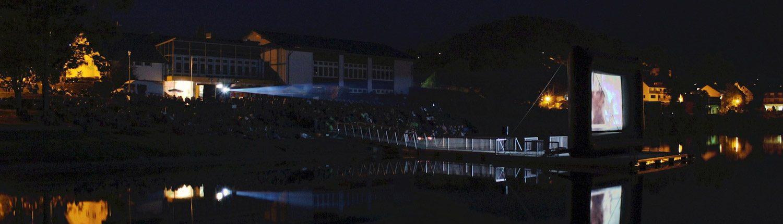 Filmschauplätze NRW mit Open Air Kinotechnik