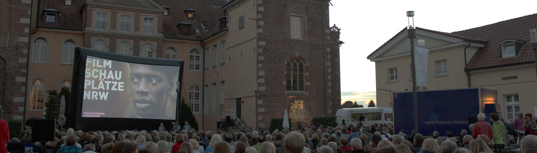 Open Air Kino Velen Mondscheinkino Filmschauplätze NRW