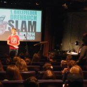 Drehbuchslam im Filmhaus Kino mit Sven Stickling