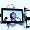 Funkschärfe mit Videofunk-Monitoreinheit