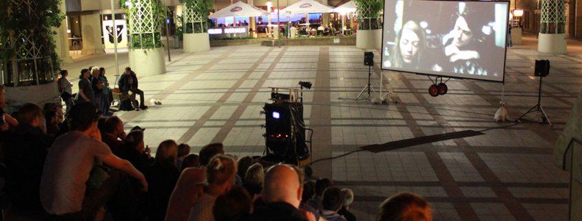 Bielefeld leuchtet! 2012 am Rathaus