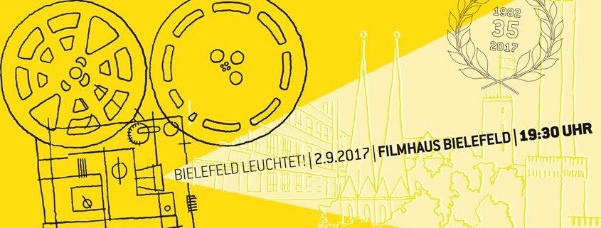 Wanderkino Bielefeld leuchtet 2017