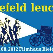 """Filmhaus Wanderkino """"Bielefeld leuchtet!"""" 2012"""