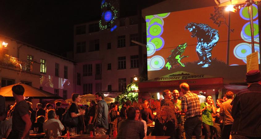 Filmhaus-Benefizpartys Metamorphosen 2014