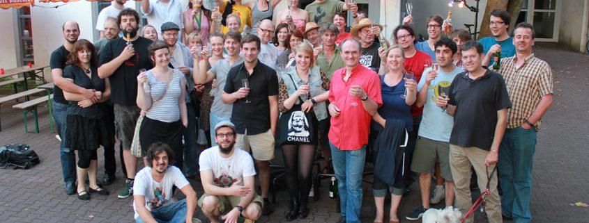 Filmhaus-Benefizpartys Team 2012