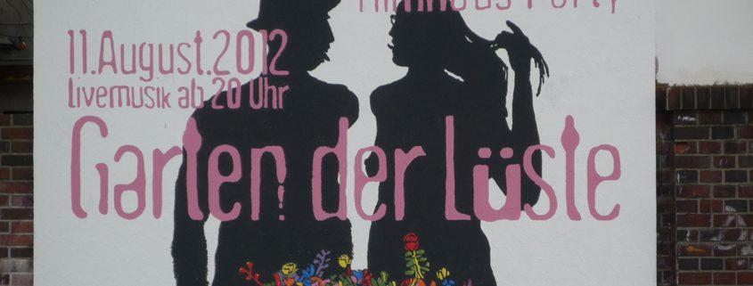 Filmhausparty 2012: Garten der Lüste