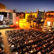 Open-Air-Kinotechnik Luna Kino im Ravensberger Park
