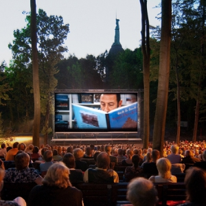 Open-Air-Kinotechnik Mondscheinkino in Detmold