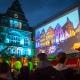 Nachtansichten 2015 am Bielefelder Rathaus