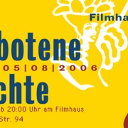 Flyer Filmhaus Party 2006