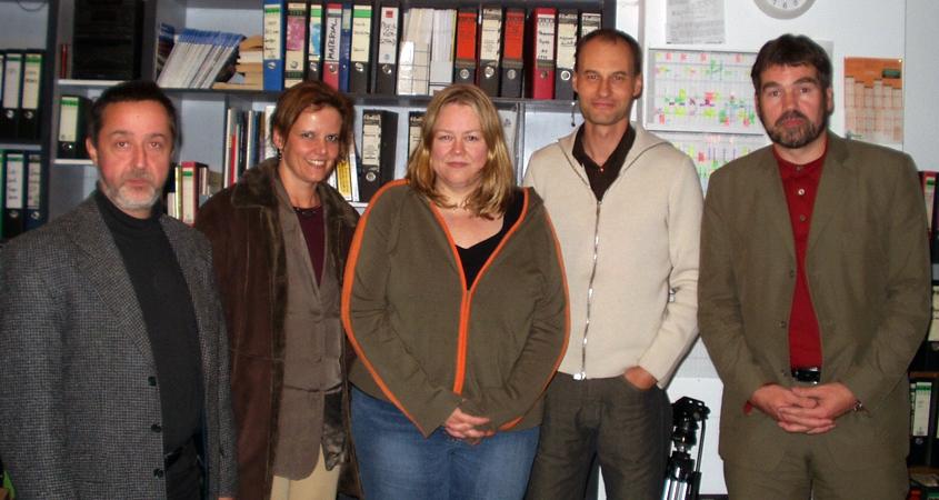 Bilderbeben Jury im Filmhaus 2004