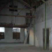 Die damalige alte Tischlerei vor dem Umbau zum Lichtwerk