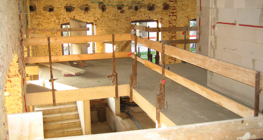Lichtwerk im Bau 2006