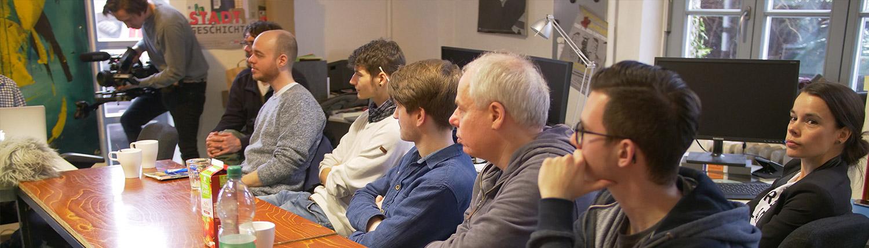 Seminarteilnehmer Kurzfilmworkshop
