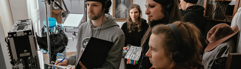 Seminare Filmhaus Bildkontrolle auf Vorschaumonitor