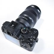 Sony-Alpha7 RIII Rückansicht