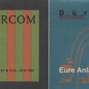 Medienkunstfestival 1991 in Bielefeld