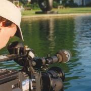"""Kameramann Jörg Erber bei Dreharbeiten zum Trailer """"Tabu"""""""