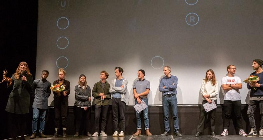 Das Team erhält den Publikumspreis