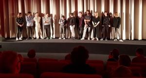Filmteam Grube auf der Bühne