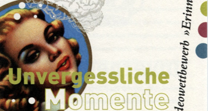 Bilderbeben Erinnerung Flyer 2003