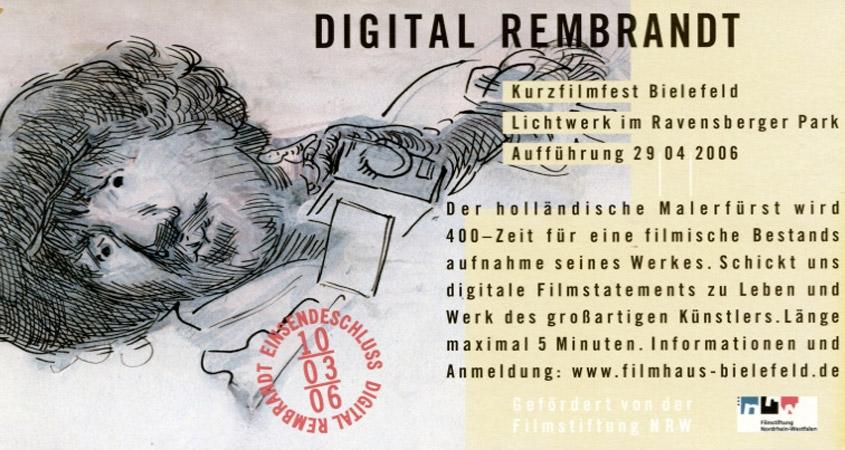 Veranstaltung zum Rembrandt-Jubiläum im Lichtwerk