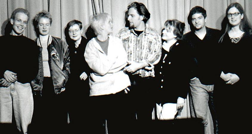 Lichtwerk-Team 1990