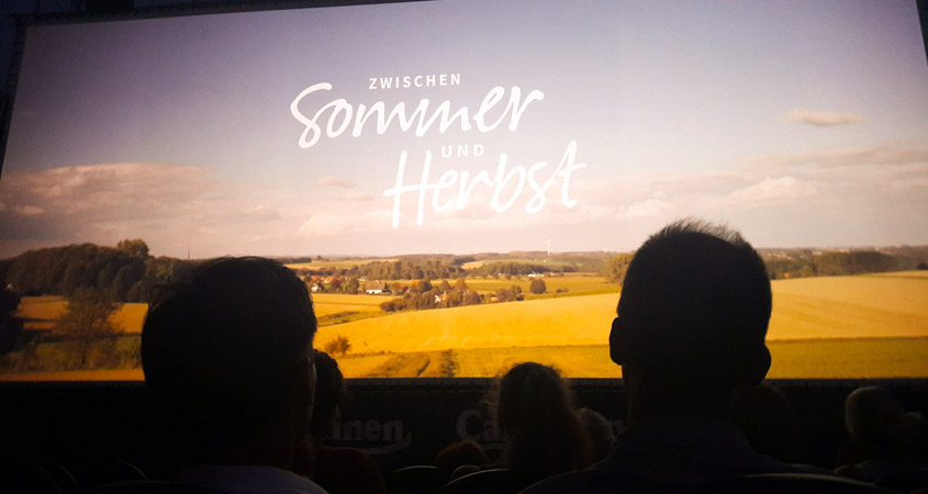Zwischen Sommer und Herbst im Luna Open Air Kino 2018