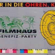 """Filmhausparty """"Ich schau Dir in die Ohren, Kleines!"""" 1989"""