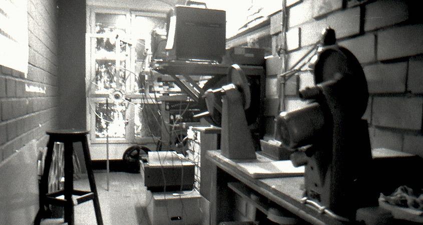 Vorführkabine Lichtwerk 1989