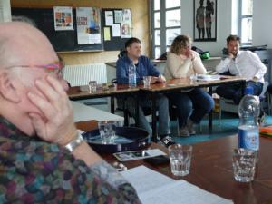 TeilnehmerInnen Dokfilm Werkstatt 1