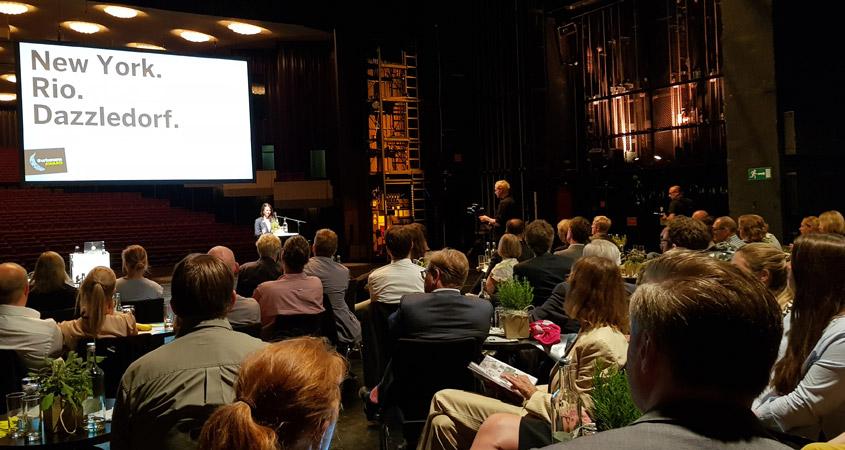 Preisverleihung Urbanana Awards in der Stadthalle Mülheim