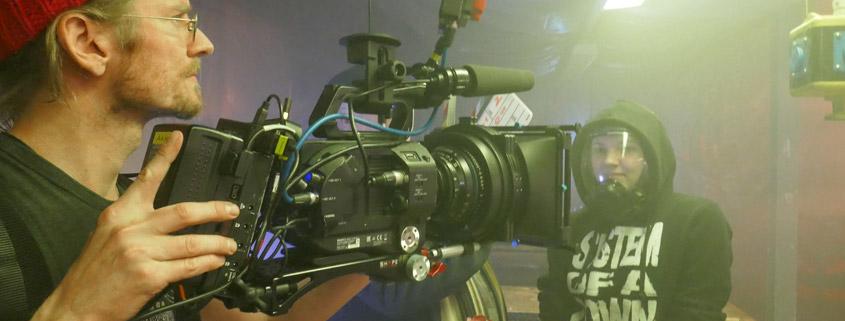 "Digital Cinema Probedreh ""Exkursion"" mit Easyrig Vario 5"